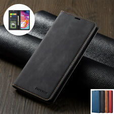 Samsung Galaxy Case A71 A51 A20e A50 A40 A70 S20 Leather Wallet Card Flip Cover