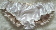 """🌸MADE TO ORDER*Double Layered Satin Lined """"SISSY KNICKERS"""" any colour 🌸"""