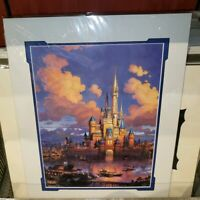 Disney Parks Dusk Castle Cinderella Castle Print New Nadeau Magic Kingdom