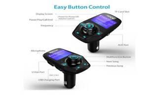 Wireless Car Bluetooth FM Transmitter MP3 Radio Adapter USB Charger