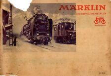 catalogo Märklin 1934 Bahn Spur 00 0, Automobile, Auto-Bahn, Dampfmaschinen,  aa