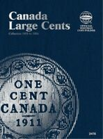Canada Large Cents 1858-1920, Whitman Coin Folder