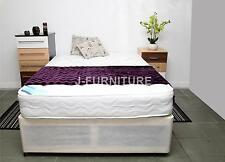 "4ft Small Double Divan Bed With 8.5""Deep Medium Mattress, Cheap!!!"
