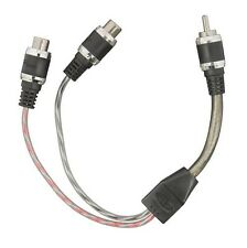 "NEW TSUNAMI V10-Y2 6"" RCA Y ADAPTER TWISTED CABLES"