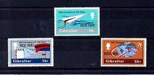 Gibraltar 50 Aniversario Correo Aéreo serie del año 1981 (AN-908)