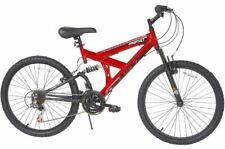 Boys Mountain Bike Full Suspension Bicycle Gears Speed Brake Shimano Street Path