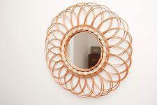 Vintage Rattan Mirror