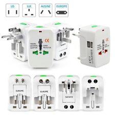Universal Dual USB Power Charger Converter International Travel Electric Plug