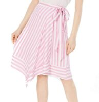 Lucy Paris Womens Skirt Classic Light Pink Size Medium M Asymmetrical $79- 810