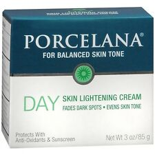 PORCELANA DAY SKIN Lightening Cream Fades Dark Spots Evens Skin Tone 3 oz