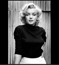 Marilyn Monroe Hot PHOTO, Gorgeous Sexy Black Perky Blouse Publicity Photo