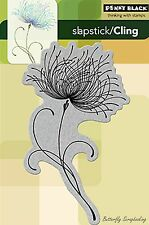 Dreamy Flower Cling Style Unmounted Rubber Stamp PENNY BLACK NEW 40-102