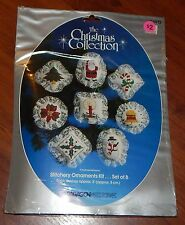 PARAGON NEEDLECRAFT KIT THE CHRISTMAS COLLECTION HEIRLOOMS STITCHERY ORNAMENTS