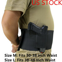 Tactical Pistol Hand Gun Holster for Glock Pistol Military Universal Belly Band