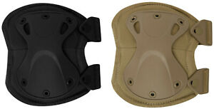 Tactical Knee Pads Low Profile Knee Protection Black Coyote Brown Rothco 1185