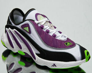 adidas Originals FYW 98 Men's White Purple Green Casual Lifestyle Sneakers Shoes