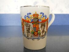 Vtg. cup  England's King George V and Queen Mary Silver Jubilee 1935