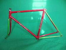 Georama Red / Green Two Tone NJS Keirin Frame Track Bike Fixed Gear .
