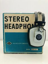 Stereo Headphones Vintage Wachi EH-011 Japan