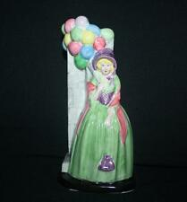 VINTAGE STAFFORDSHIRE GIBSON SPILL VASE BALLOON LADY C 1940 1950 HAND PAINTED
