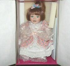 Marie Osmond Debbie Tiny Tot Doll Numbered Limited Edition. W Coa Necklace