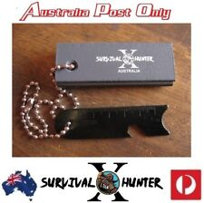 Aus Magnesium Block & Flint Military Striker Firestarter Army Survival