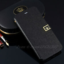 Deluxe Leather Wallet Card Case Stand Flip Cover For Samsung Galaxy V S5 I9600