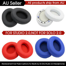 2pcs Replacement Ear Pad Cushion for Beats By Dr Dre Studio 2.0 Wireless Headset