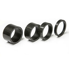 5/10/15/20mm Carbon Spacer Headset Handle Bar Stem Spacers 1-1/8 Inch For Bike