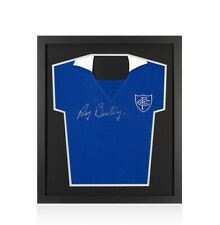 Framed Roy Bentley Signed Chelsea Shirt - Compact Autograph Jersey