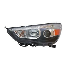 Headlight Assembly-CAPA Certified Left TYC fits 11-18 Mitsubishi Outlander Sport