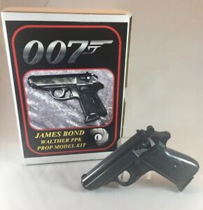 James Bond Walther PPK Pistol Gun Resin Prop Replica Model Kit