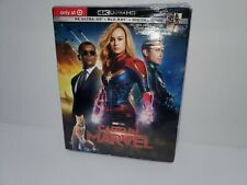 Captain Marvel 4K Ultra HD Target Exclusive Blu ray Digital 40 Page Book NEW
