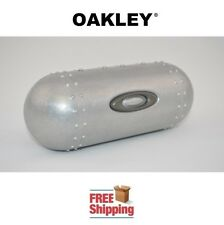 OAKLEY® SUNGLASSES EYEGLASSES LARGE METAL HARD STORAGE CASE NEW FREE SHIPPING