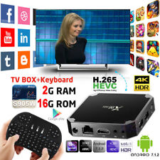 2017 NEW Android 7.1 TV Box X96mini Amlogic S905W Quad Core 2G 16G + i8 Keyboard