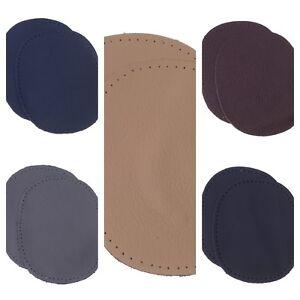 Kleiber Nappa Leather Repair Patches Elbow Knee Beige Black Brown Grey Navy