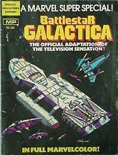 Battlestar Galactica Tv Series, Marvel Collector'S Edition Book, 1978