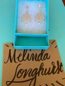 Tiffany and Co Enchant Drop Dangle Earrings