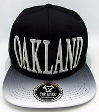 OAKLAND City Snapback Cap Hat RAIDERS Adult OSFM 100% Cotton NWT