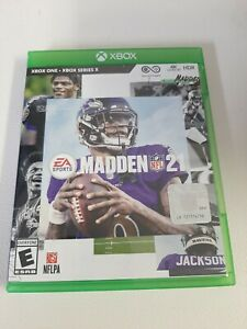 EA Sports Madden NFL 21 (Xbox One) Works Perfect Ships Super Fast Microsoft