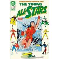 Young All-Stars #4 in Near Mint minus condition. DC comics [*b4]