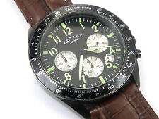 Gents Rotary GS03908/04 Tachymeter Chronograph - 100m
