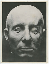 DEATH MASK OF FIELD MARSHAL ERWIN ROMMEL 8X10 PHOTO REPRINT