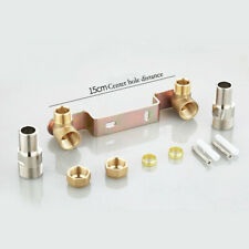 Concealed Fixing Fitting Wall Plate Kit Thermostatic Shower Moxer Bar Valve New