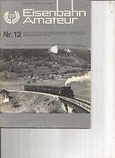 EISENBAHN AMATEUR 12-71 RUCKBLICK UN AUSBLICK / METROPOLITAN MODELLEISENBAHN HO