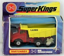 PMatchbox Super Kings K-4 Big Tipper - Vintage 1976 Diecast Dump Truck - NICE