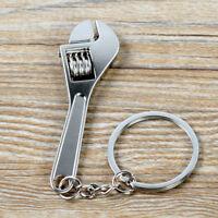 Mini Adjustable Tool Wrench Spanner Key Chain Ring Keyring Metal Keychain 1pcs