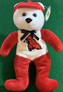 CELEBRITY BEARS 1998 Star #25 Mark McGuire 70 Home Runs! Bean Bag Plush MWMT!