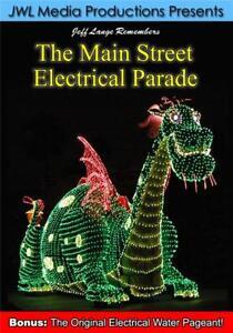 Main Street Electrical Parade DVD Disneyland, Walt Disney World, DCA Versions