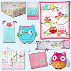Love Bird 9 pc Crib W/Bumper Bedding Set by NoJo